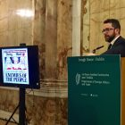 "James M. Flaherty Visiting Professor, Dr Beaulac, giving his keynote address at Iveagh House on: ""Brexit: legal views from Canada and Ireland""."