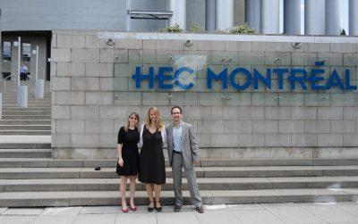 Pic 1_Lucie Morissette_Janine Bosak_Denis Chenevert_outside HEC Montreal