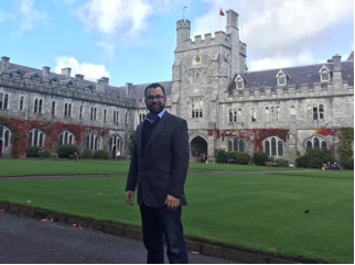 Visiting Professor Beaulac at UCC